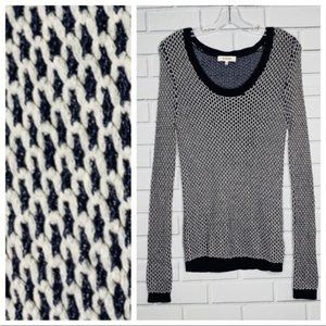 ASOS H.One sweater navy blue and grey